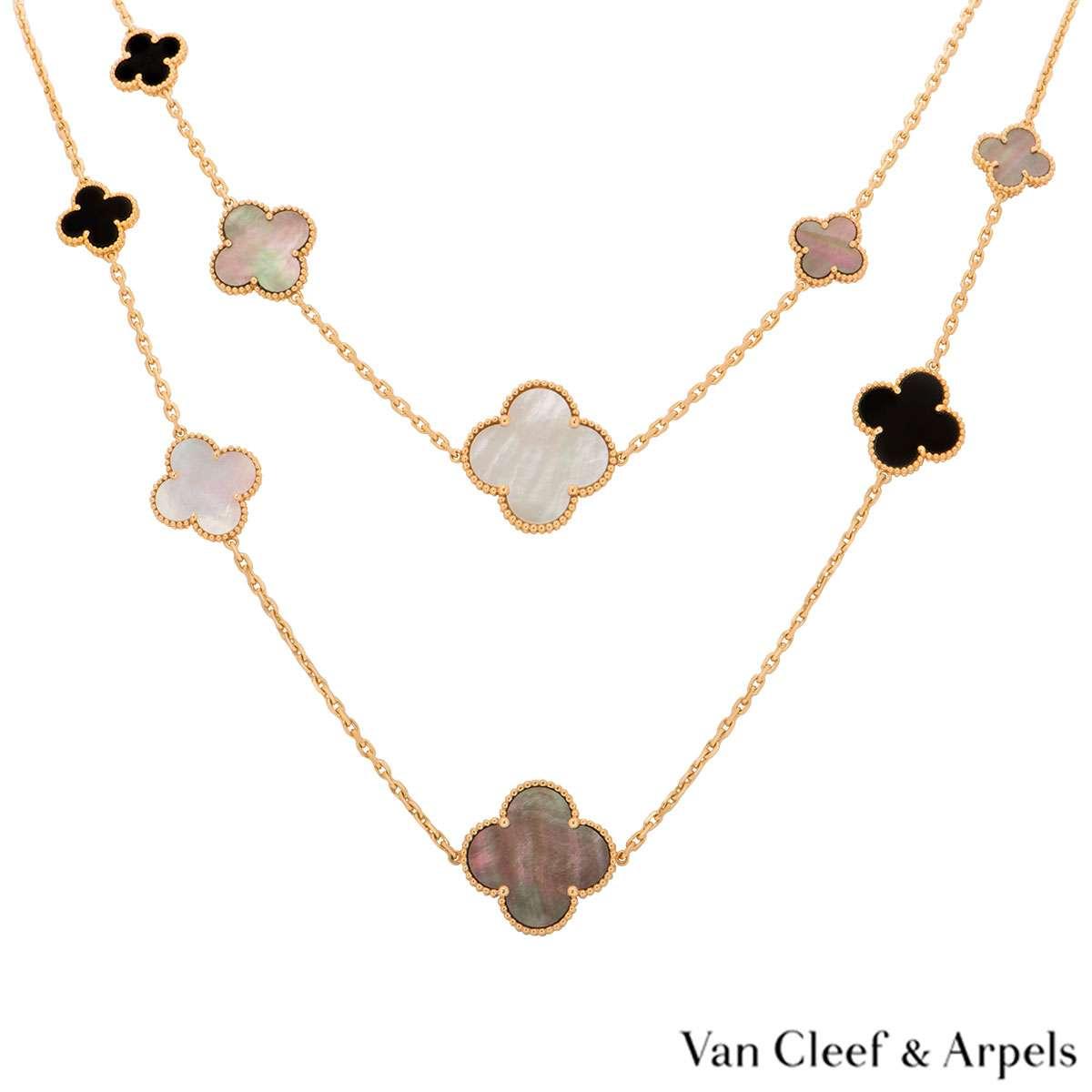 Van Cleef & Arpels Magic Alhambra Necklace VCARD79400